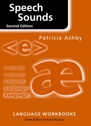 Speech Sounds: 2nd Edition (Paperback) book cover