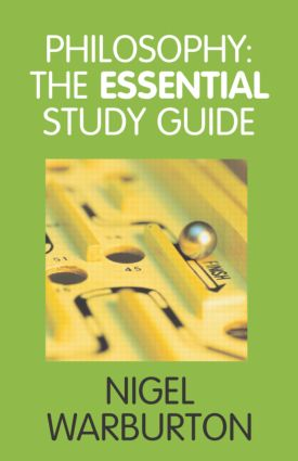Philosophy: The Essential Study Guide (Paperback) book cover