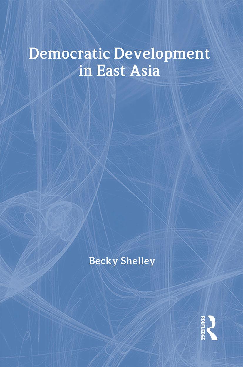 Democratic Development in East Asia (Hardback) book cover