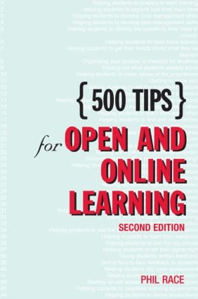 500 Tips for Open and Online Learning book cover