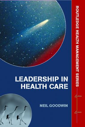 Leadership in Health Care: A European Perspective (Paperback) book cover