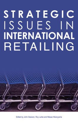 Strategic Issues in International Retailing book cover