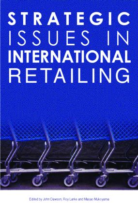 Strategic Issues in International Retailing (Paperback) book cover