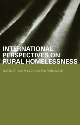 International Perspectives on Rural Homelessness book cover