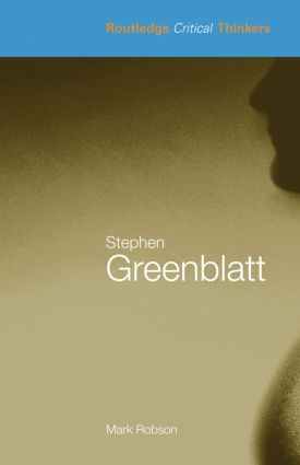 Stephen Greenblatt (Paperback) book cover