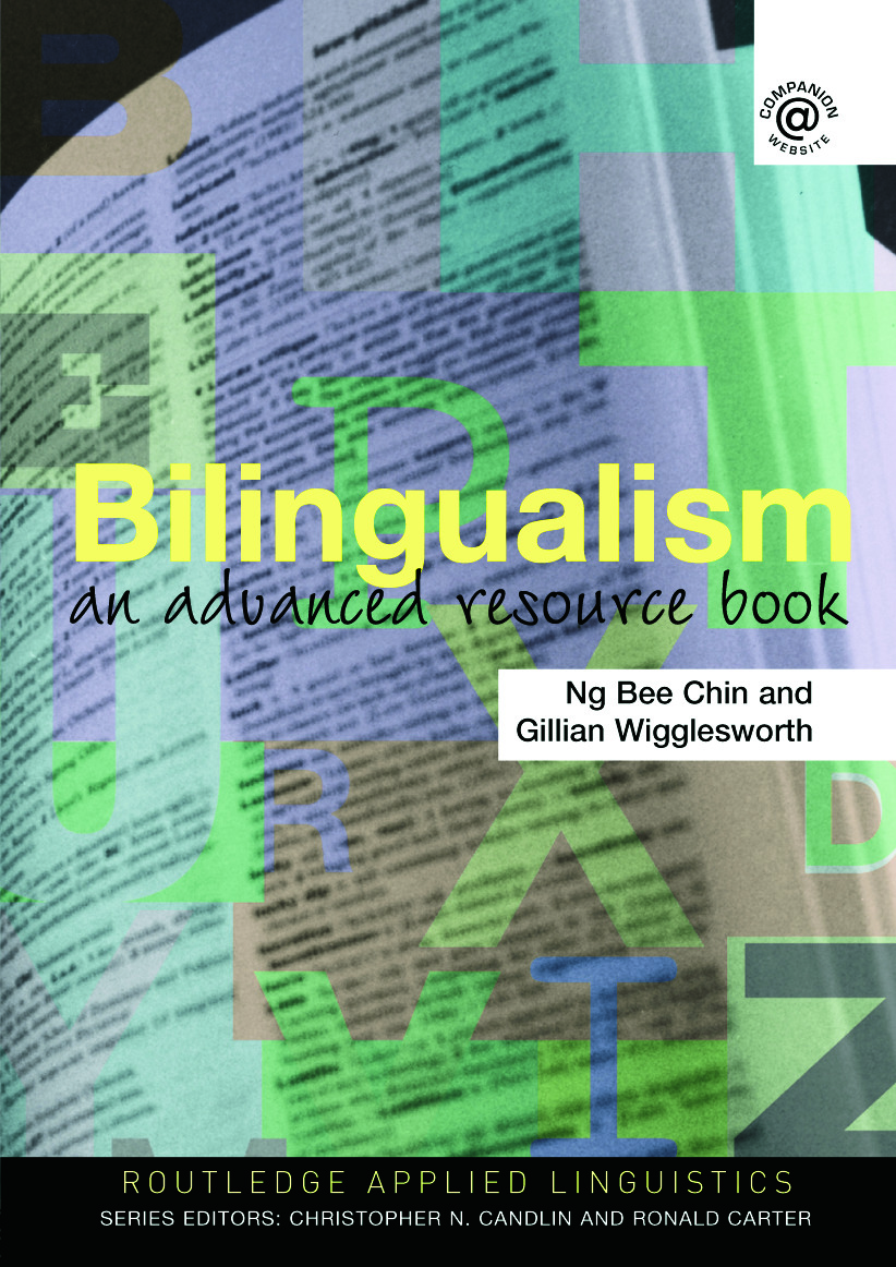 Bilingualism: An Advanced Resource Book, 1st Edition (Paperback) book cover