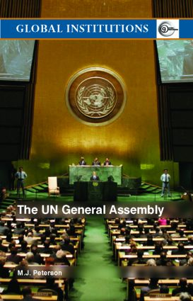 The UN General Assembly (Paperback) book cover