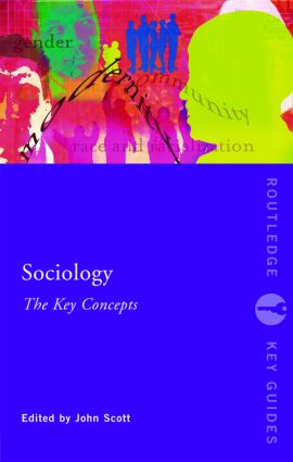 Sociology: The Key Concepts (Paperback) book cover