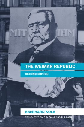 The Weimar Republic: 2nd Edition (e-Book) book cover