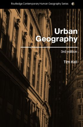 Urban Geography: 3rd Edition (Paperback) book cover