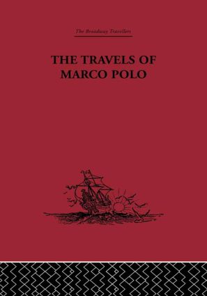 The Travels of Marco Polo: 1st Edition (Hardback) book cover