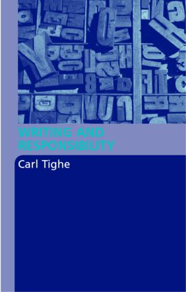 Writing and Responsibility (Paperback) book cover