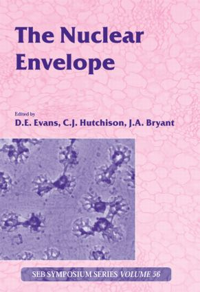 The Nuclear Envelope: Vol 56 (Hardback) book cover