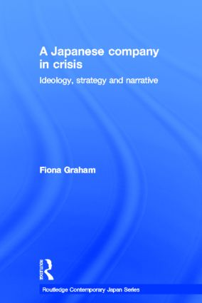Japanese Company in Crisis (Hardback) book cover