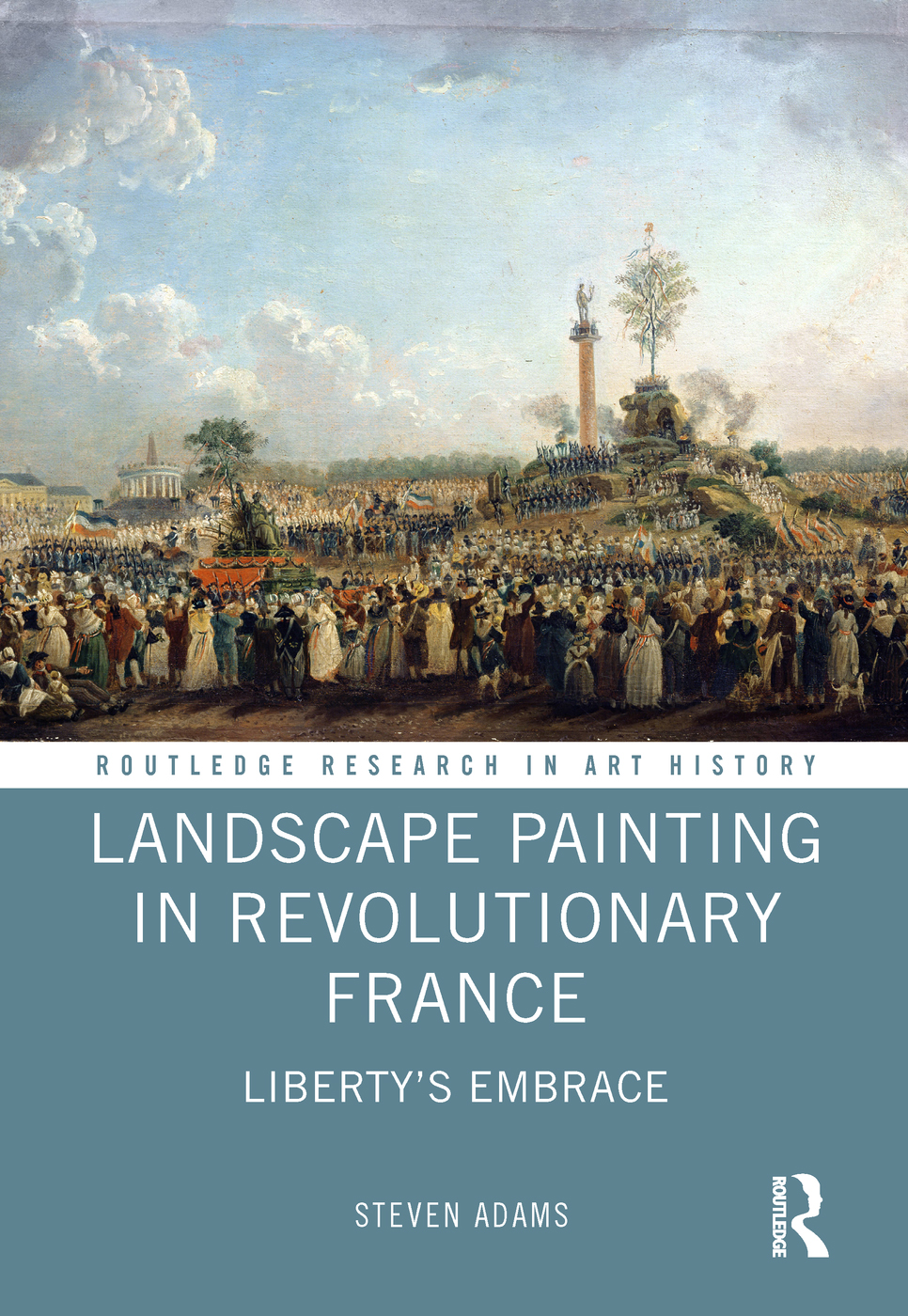 Landscape Painting in Revolutionary France: Liberty's Embrace book cover