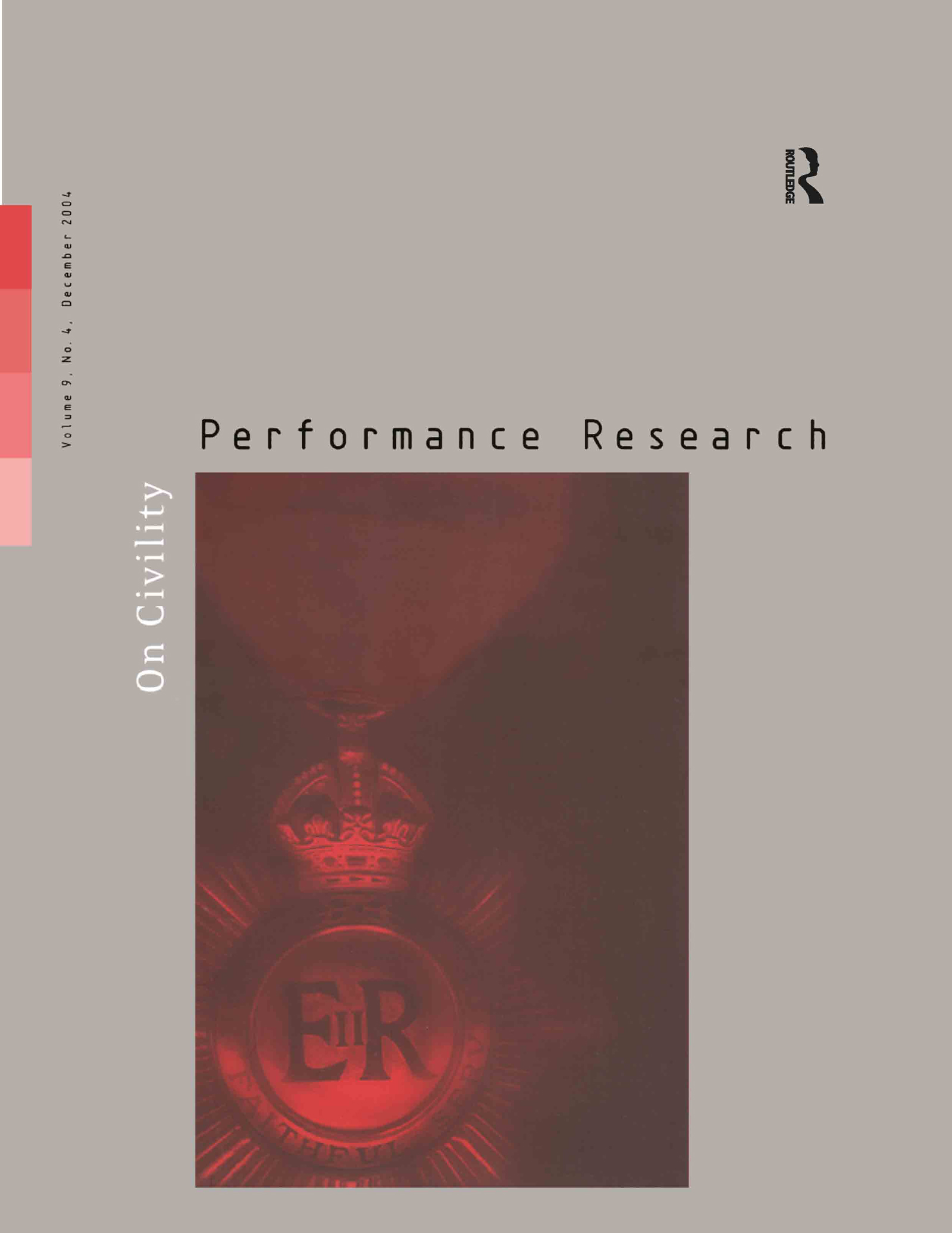 Performance Research 9:4 Dec 2: 1st Edition (Paperback) book cover