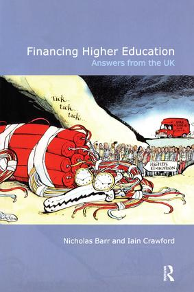 Financing Higher Education: Answers from the UK, 1st Edition (Paperback) book cover