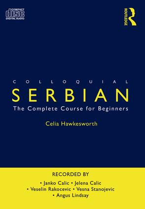 Colloquial Serbian: The Complete Course for Beginners, 1st Edition (Audio CD) book cover