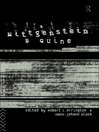 Wittgenstein and Quine (Paperback) book cover