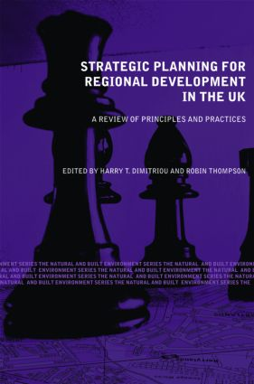 Strategic Planning for Regional Development in the UK (Paperback) book cover
