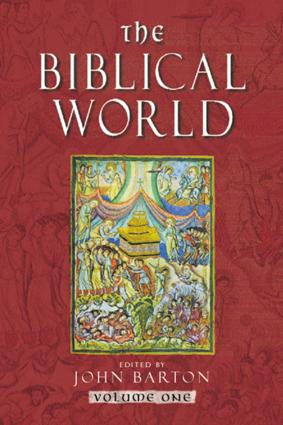 The Biblical World (Paperback) book cover