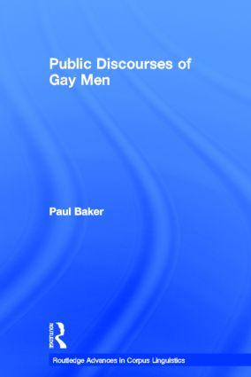 Public Discourses of Gay Men (Hardback) book cover