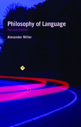 Philosophy of Language: 2nd Edition (Paperback) book cover