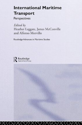 International Maritime Transport: Perspectives, 1st Edition (Hardback) book cover