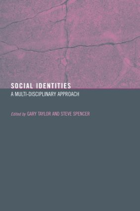 Social Identities: Multidisciplinary Approaches (Paperback) book cover