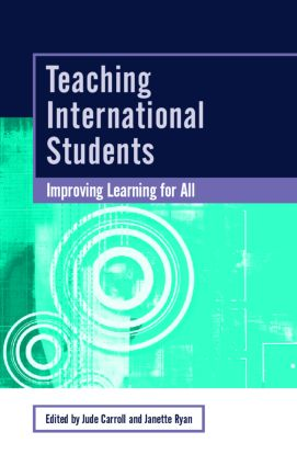 Teaching International Students: Improving Learning for All book cover