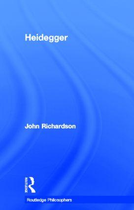 Heidegger (Hardback) book cover