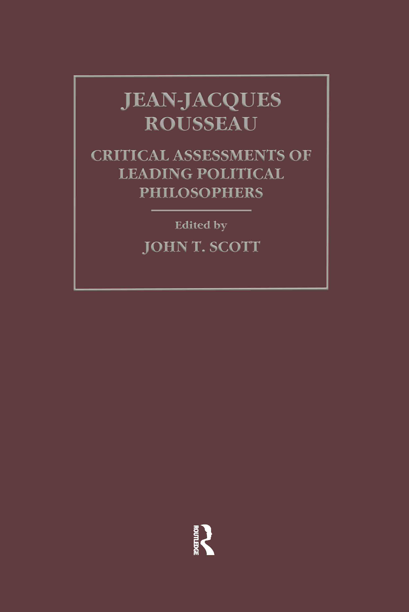 Jean-Jacques Rousseau: 1st Edition (Hardback) book cover