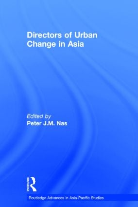Directors of Urban Change in Asia: 1st Edition (Hardback) book cover