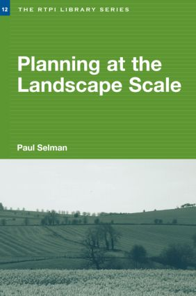 Planning at the Landscape Scale (Paperback) book cover