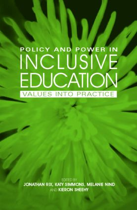 Policy and Power in Inclusive Education: Values into practice (Paperback) book cover