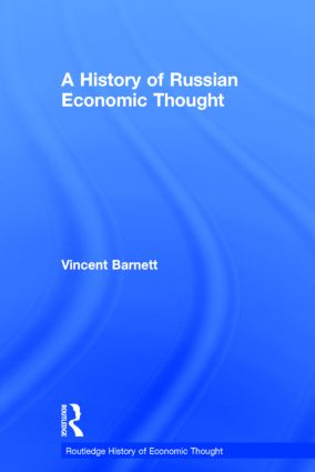 A History of Russian Economic Thought: 1st Edition (Hardback) book cover