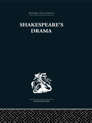 Shakespeare's Drama (Hardback) book cover
