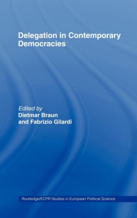 Consequences of legitimizing independent regulatory agencies in contemporary democracies: theoretical scenarios GÜL SOSAY