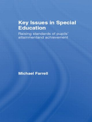 Key Issues In Special Education: 1st Edition (Hardback) book cover