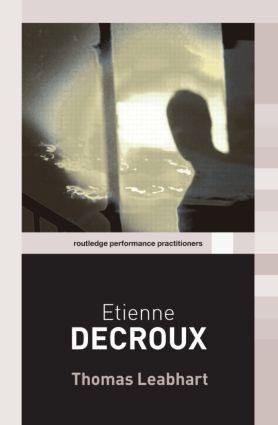Etienne Decroux (Paperback) book cover