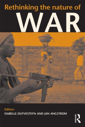 Rethinking the Nature of War (Paperback) book cover