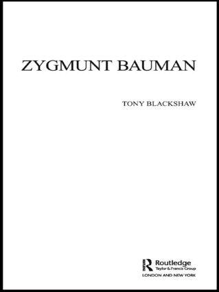 Zygmunt Bauman (Paperback) book cover