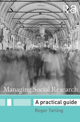 Managing Social Research: A Practical Guide (Paperback) book cover