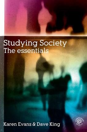 Studying Society: The Essentials, 1st Edition (Paperback) book cover