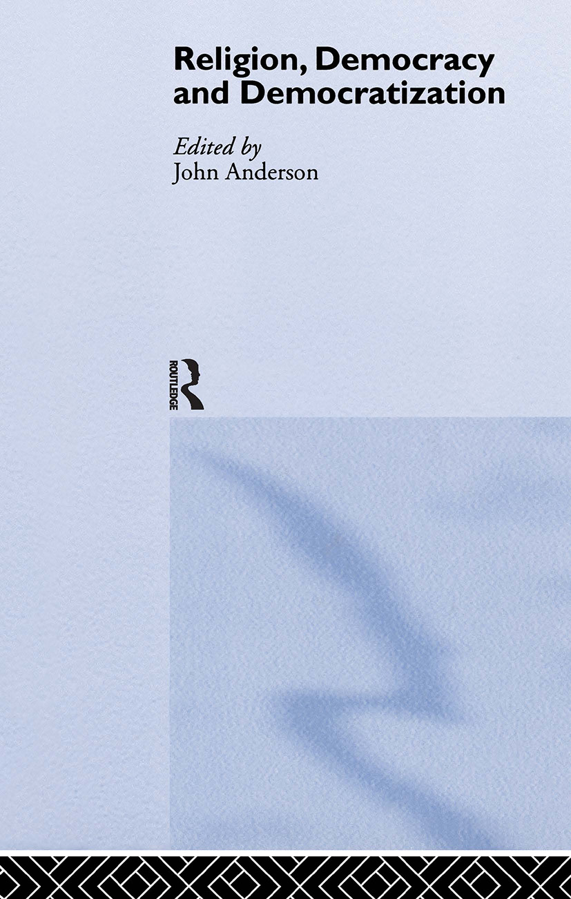 Religion, Democracy and Democratization book cover