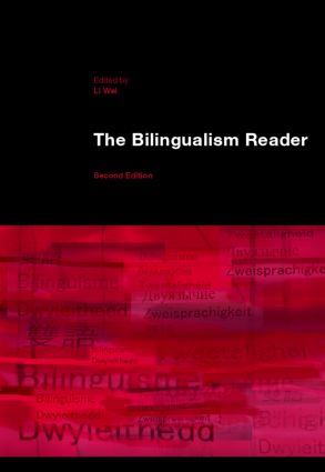 The Bilingualism Reader: 2nd Edition (Paperback) book cover