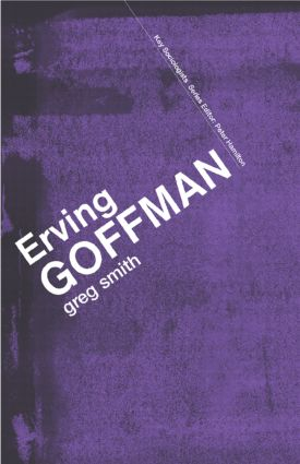 Erving Goffman (Paperback) book cover