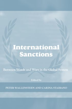 International Sanctions: Between Wars and Words, 1st Edition (Paperback) book cover