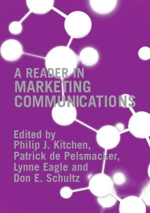 A Reader in Marketing Communications: 1st Edition (Paperback) book cover