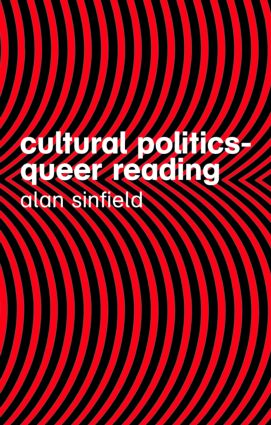 Cultural Politics – Queer Reading: 2nd Edition (Paperback) book cover